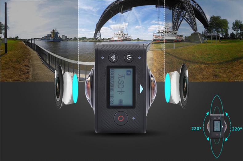 AMKOV AMK200S has two lenses