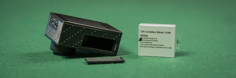 Andoer C5 Pro - Battery