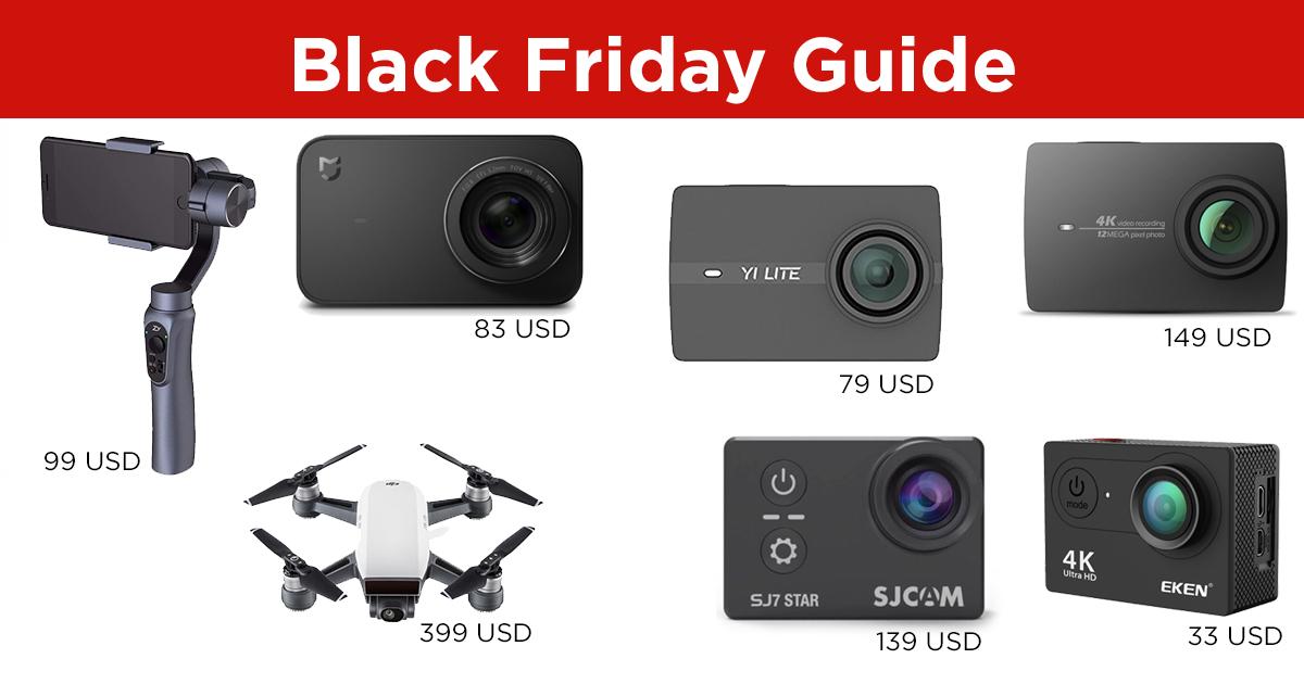 Black Friday Action Camera Sales Guide el Producente