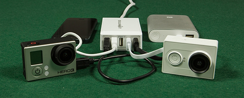Blitzwolf-USB-charger-charging