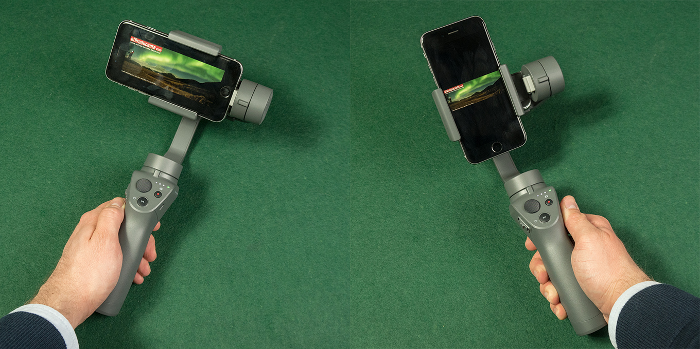 DJI OSMO Mobile 2 - Landscape & Portrait Mode