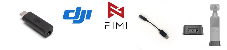 DJI Osmo Pocket vs FIMI Palm - USB-C to 3.5mm external microphone adapter