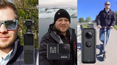 Leaked GoPro Hero8 - a vlogger camera? - el Producente