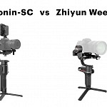 DJI Ronin-SC vs Zhiyun Weebill-S – Which Gimbal for Mirrorless Cameras?