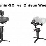 DJI Ronin-SC vs Zhiyun Weebill-S – Which Gimbal for Mirrorless Cameras?