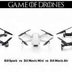 DJI Mavic Mini vs DJI Spark vs DJI Mavic Air