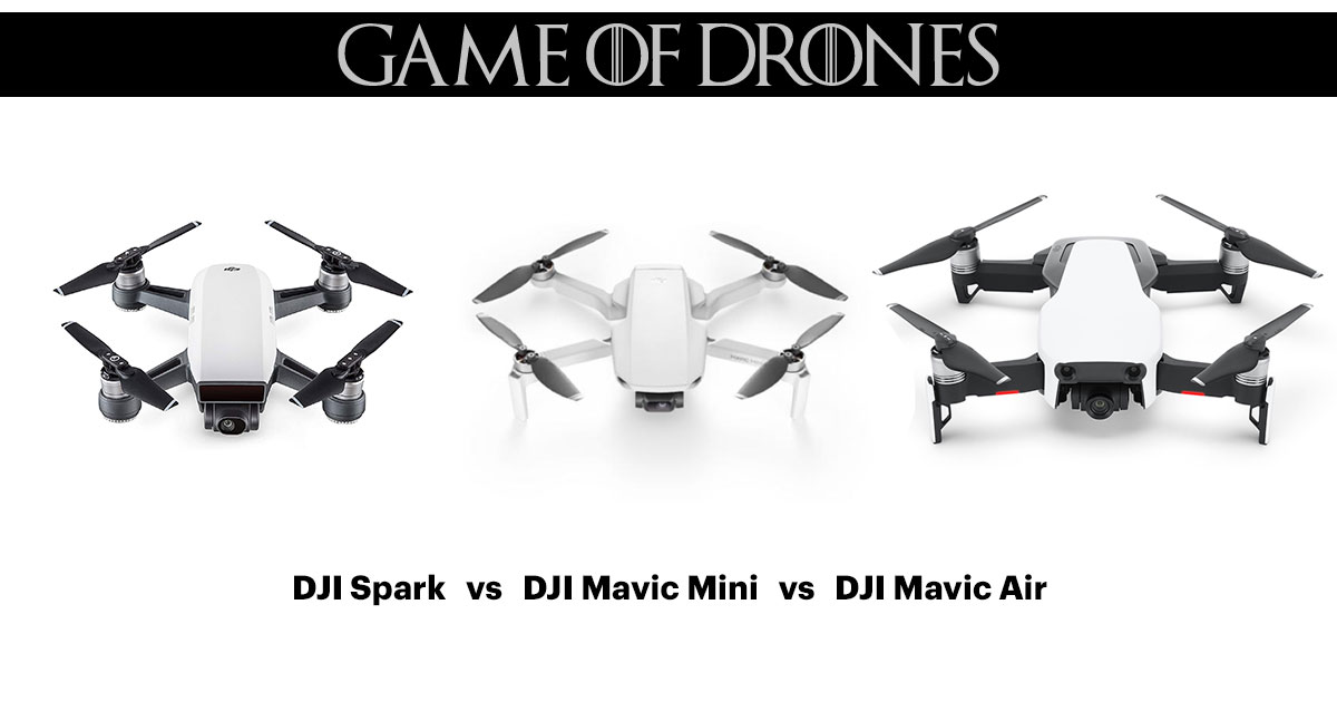 Dji mavic mini vs air
