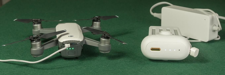 DJI Spark vs Mi 4K Drone - Battery