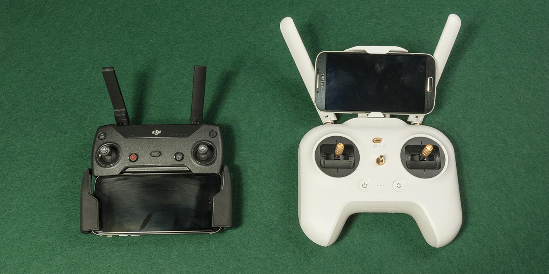 DJI Spark vs Xiaomi Mi 4K Drone - Remote Controller