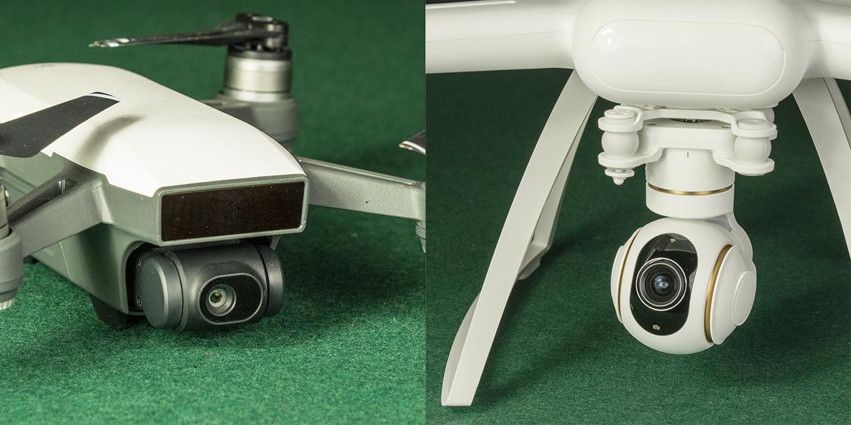 DJI Spark vs Xiaomi Mi 4K Drone - Camera