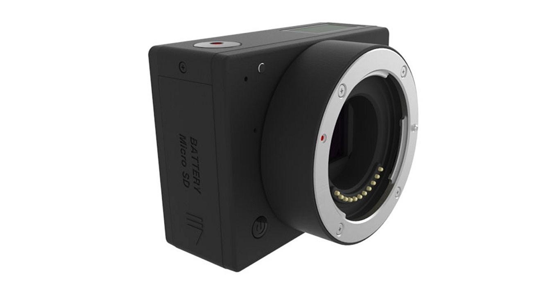 E1 Camera - interchangeable MTF lenses, detachable battery