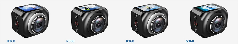 EKEN H360 - R360 - K360 - G360