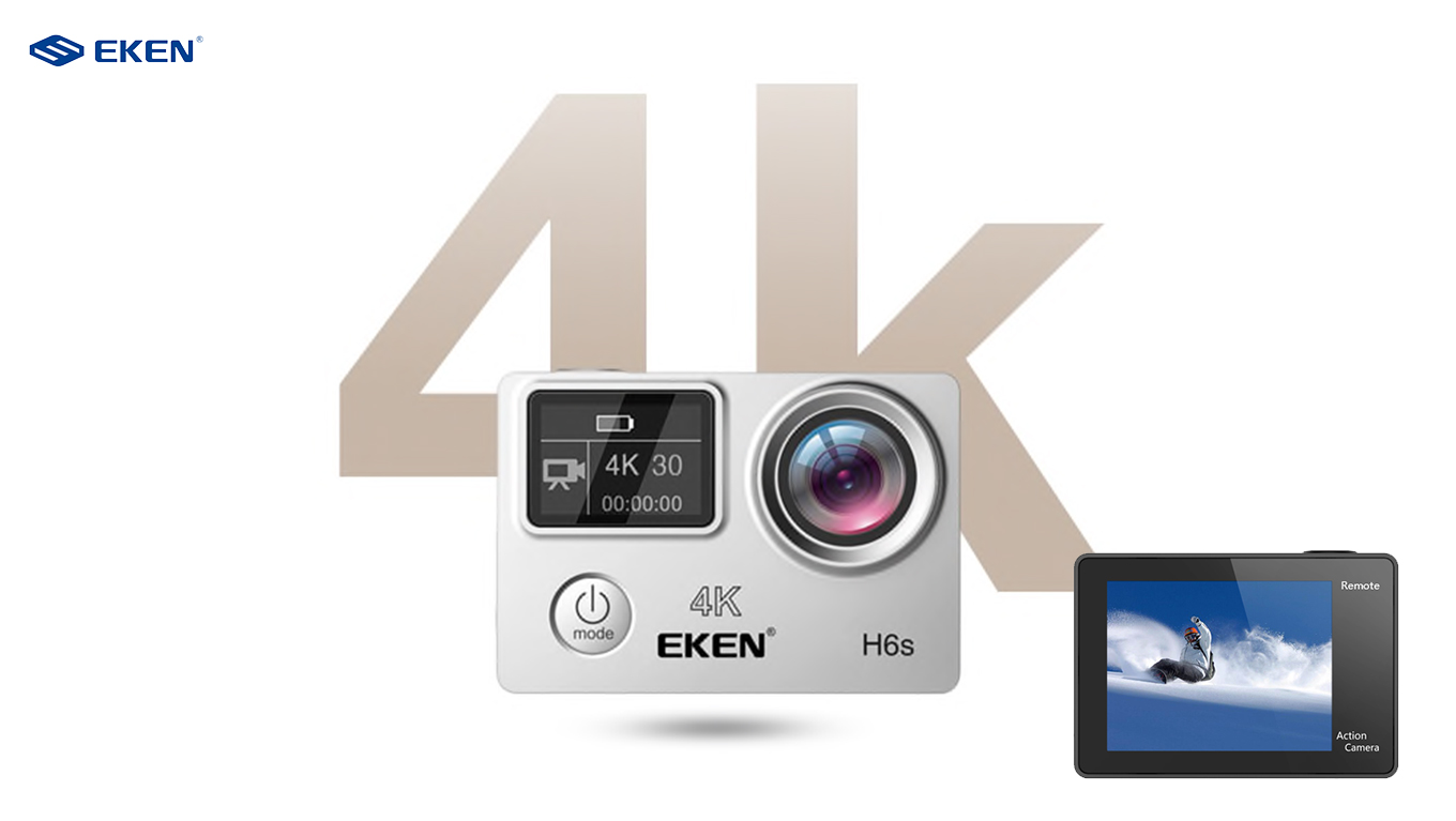 Eken H6s Action Camera 4k Image Stabilization El Producente H3r Ultra Hd Bult In Remote Control Cam