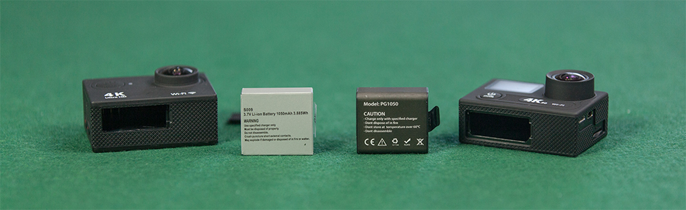 EKEN H9 vs EKEN H8 battery