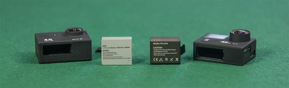 EKEN H9 vs EKEN H8 battery