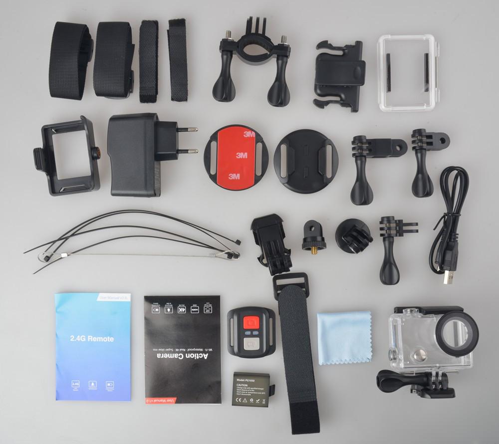 EKEN H8 Pro - Accessories