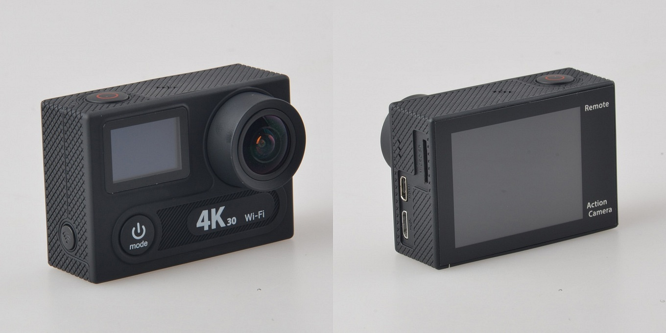EKEN H8 Pro - Front- & Backside