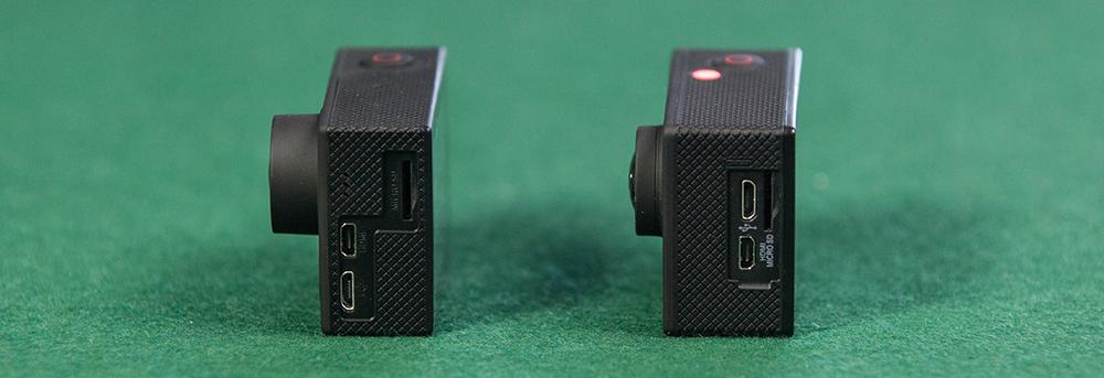 EKEN H8 vs EKEN H9 - Buttons