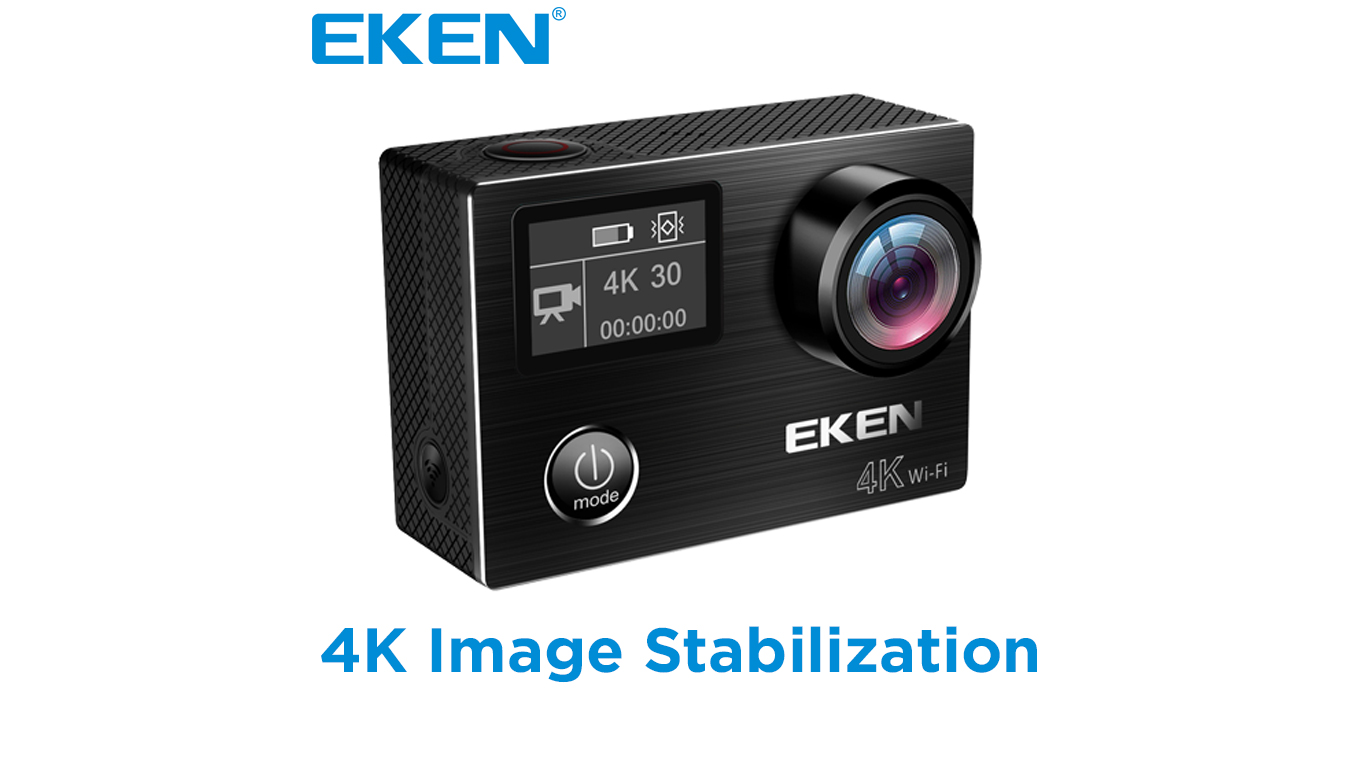 Eken V8s Stabilized 4k Action Camera El Producente