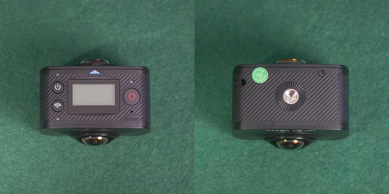 Elephone ELEcam 360 - Top & Bottom