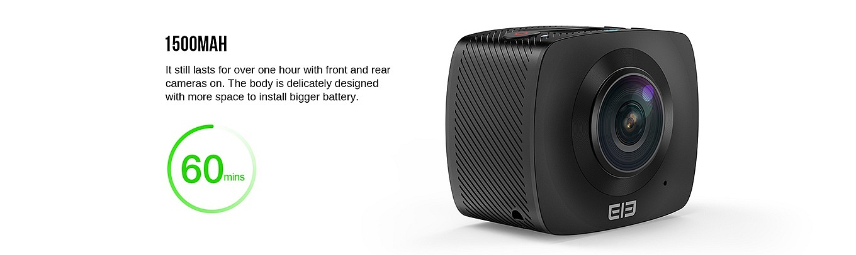 Elephone ELEcam 360 - battery