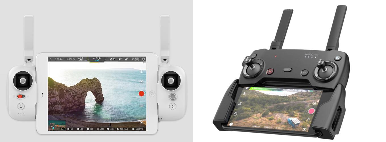 FIMI X8 SE vs DJI Mavic Air - Remote Controller Comparison Review