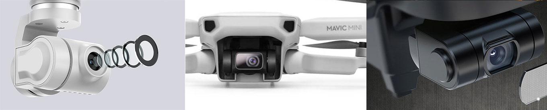 FIMI X8 vs DJI Mavic Mini vs Hubsan Zino Pro - Drone Review Camera Specs