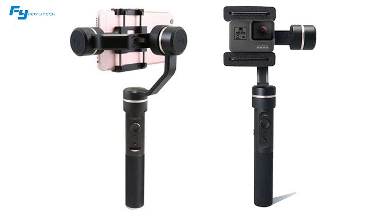 Feiyu SPG (new version) - Splashproof gimbal for Smartphone & GoPro