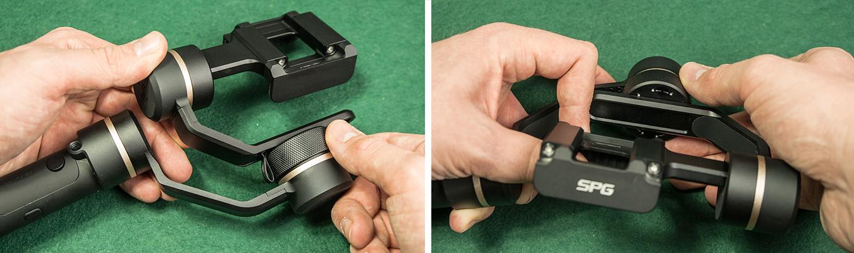 Feiyu SPG - Knob ring to level your smartphone