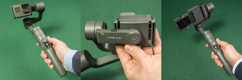 Feiyu Vimble 2 with GoPro Hero5 black