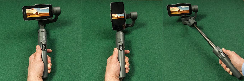 Feiyu Vimble 2 - landscape & portrait mount, selfie stick
