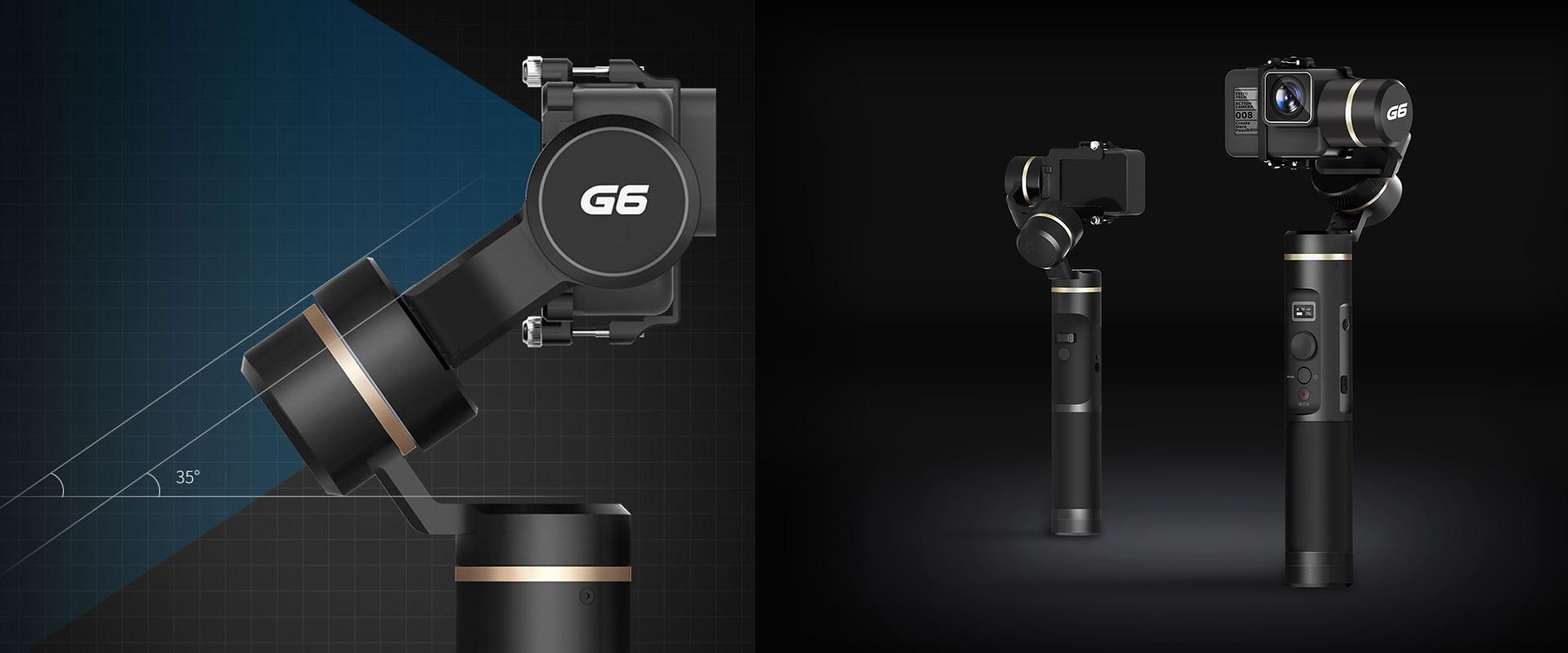 Feiyu G6 - 3-axis, splash-proof gimbal - GoPro Hero6 black, GoPro Hero5 black