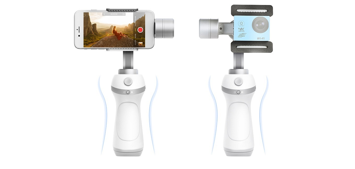 Feiyu Vimble C - for Smartphones and Action Cameras