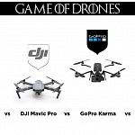 DJI Spark – DJI Mavic – GoPro Karma – Mi Drone – Overview
