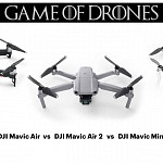 DJI Mavic Air 2 vs DJI Mavic Air vs DJI Mavic Mini – Comparison