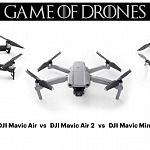 DJI Mavic Air 2 vs DJI Mavic Air vs DJI Mavic Mini – Comparison