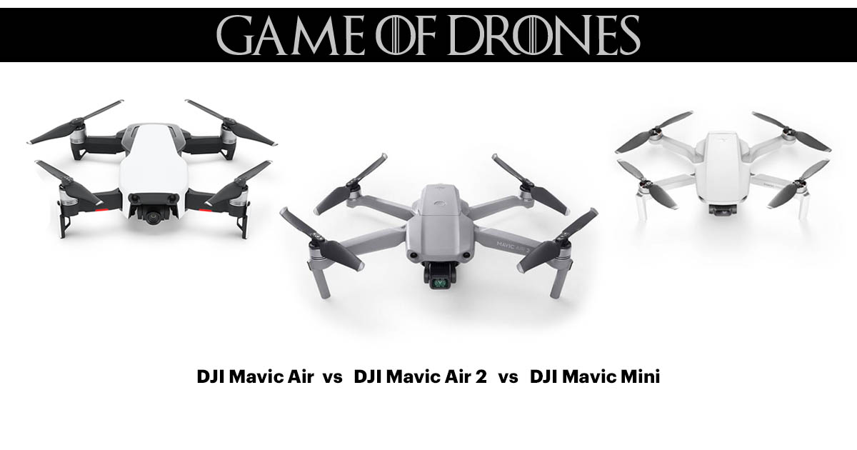 DJI Mavic Air vs DJI Mavic Air 2 vs DJI Mavic Mini