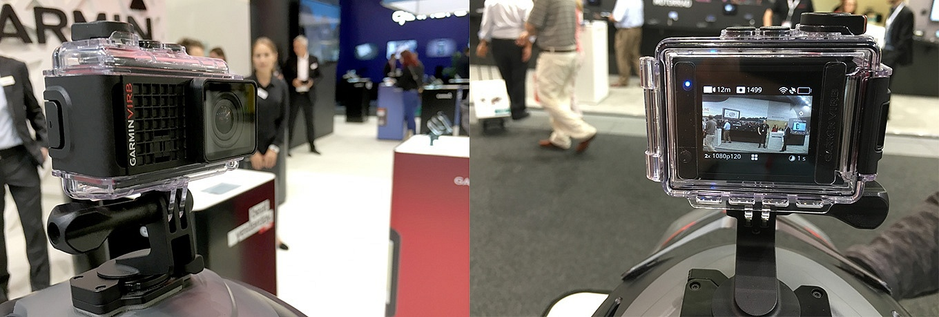 Garmin Virb at IFA, Berlin