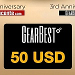 WIN a 50 USD Gearbest Gift Card – 3/2017