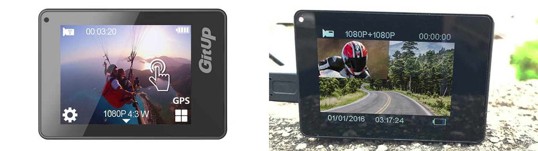 "GitUp G3 Duo - 2"" Touch Screen"