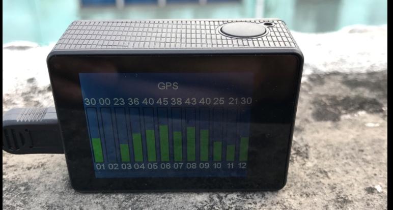 GitUp Git3 - GPS recording