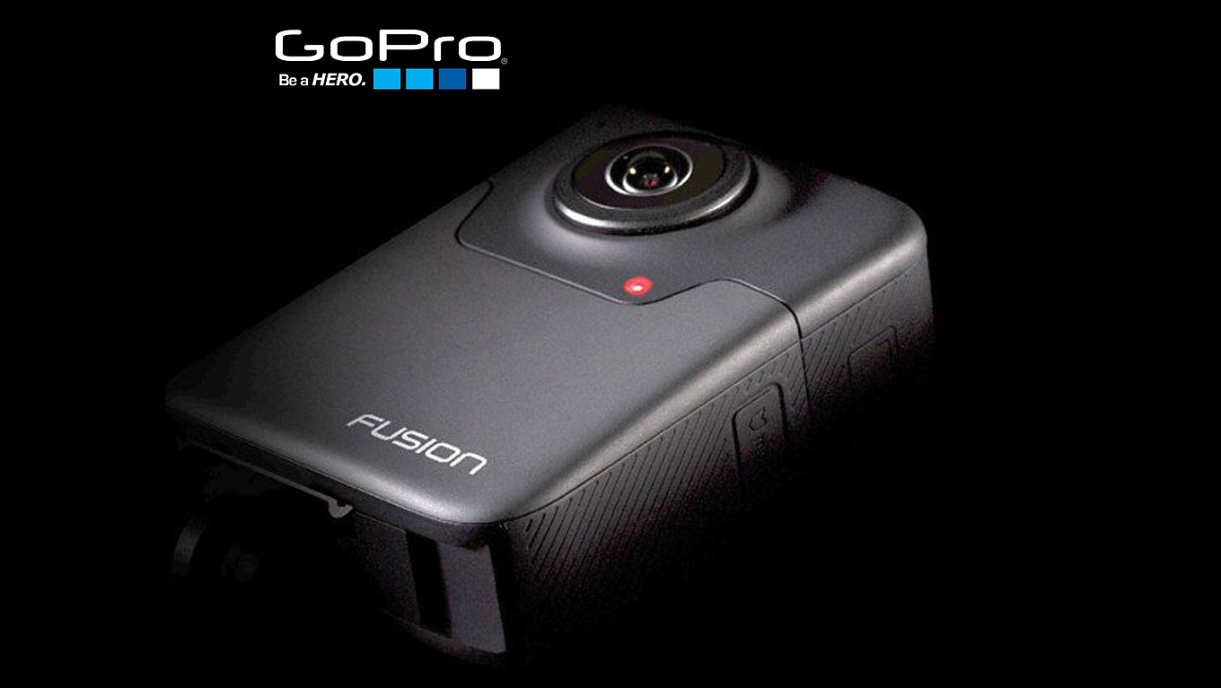 GoPro Hero Fusion - backside