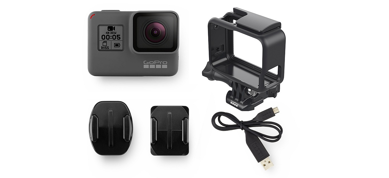 accessoires gopro hero5 black. Black Bedroom Furniture Sets. Home Design Ideas