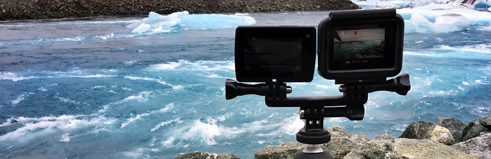 GoPro Hero5 black vs YI 4K Action Camera
