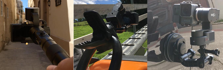 GoPro Hero5 gimbal options