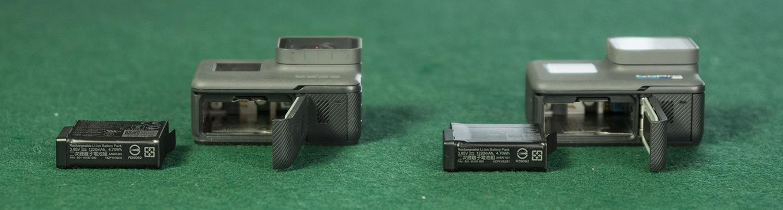 GoPro Hero5 black vs. GoPro Hero6 black - Battery