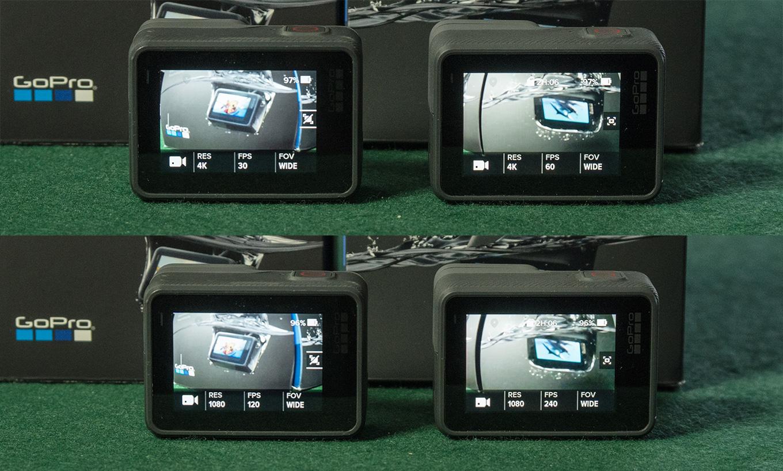 GoPro Hero6 black: 4K 60fps & 1080p 240fps
