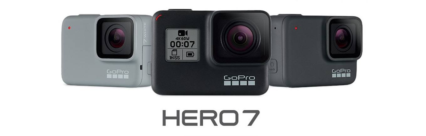 GoPro Hero7 black vs silver vs white