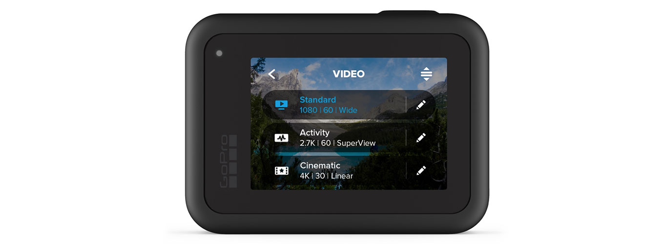 GoPro Hero8 black - Custom Presets