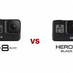 GoPro Hero8 black vs GoPro Hero7 black – all specs compared
